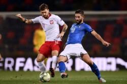 Italia y Polonia no se sacaron diferencias.