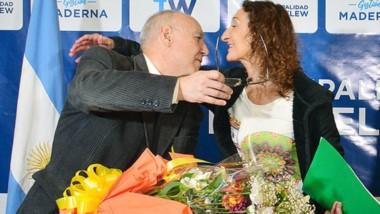 Myriam Ustariz se jubiló tras 36 años de servicio.