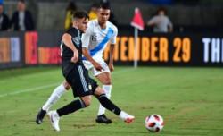 En la primera prueba, Argentina venció a Guatemala sin problemas. Tagliafico (foto), sería uno de los tres o cuatro jugadores que Scaloni repetiría en el once inicial.