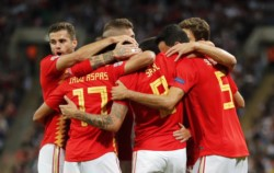 Con goles de Niguez y Rodrigo, España venció a Inglaterra como visitante.