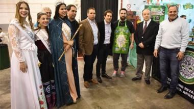 Altas autoridades de la ciudad participaron del acto de apertura.