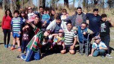 Se realizó una nueva jornada del Rugby Inclusivo en el club La Española.