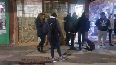 Personal policial y municipal acudieron al sitio donde se alertó sobre el desarrollo del evento.