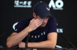 Sus lágrimas son nuestras lágrimas. Andy Murray es el primero del Big Four en anunciar su retirada. Se retirará en este 2019.