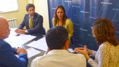 Presentación. El ministro Pizzi estuvo con los fiscales para explicar la necesidad del Ministerio de Salud.