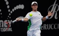 Schwartzman perdió con Andreas Seppi por 7-6, 6-4 en la semifinal del ATP 250 de Sidney.