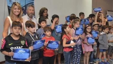 Participaron más de 30 niños en la primera edición.