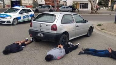 Los delincuentes fueron interceptados en Maliquero y Canadá.