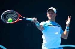 Schwartzman fue el único argentino que pasó de ronda, Guido Andreozzi y Federico Delbonis quedaron eliminados del primer Grand Slam del año.