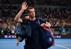 Andy Murray cae en primera ronda del Abierto de Australia.