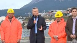 Mauricio Macri respaldó el rumbo económico y político desde Ushuaia.
