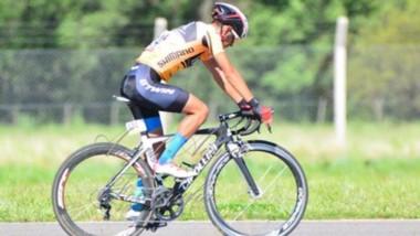 El chubutense Nicolás Antorena, de la localidad de Río Senguer, sueña con el ciclismo profesional europeo.