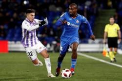 Con Chichizola de titular (atajó un penal a falta de 5' para el final), Getafe igualó 1-1 ante Valladolid y por el 1-0 conseguido en la ida se clasificó a los cuartos de la Copa del Rey.