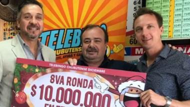 Lotería entregó premios millonarios en el sur de la provincia.