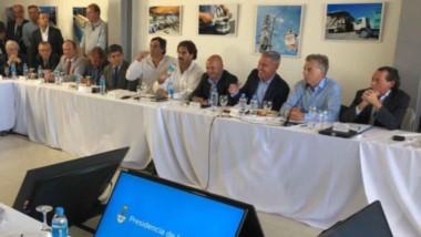 Durante el encuentro se plantearon algunas de las demandas de la provincia, como la mayor infraestructura que se necesita para los puertos.
