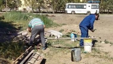 Cordones. Los proyectos se combinaron con Provincia para beneficiar a la bolsa de trabajo de la UOCRA.