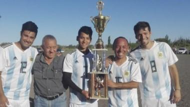 """El equipo de """"La Selección"""" se consagró campeón de la Liga Mercantil."""