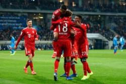 Bayern Múnich reinicia la Bundesliga con triunfo de 3-1 sobre Hoffenheim.