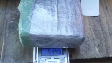 La droga fue hallada en el baño del colectivo que se iba a Comodoro.