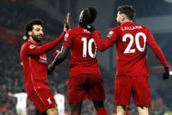 Liverpool se permanece en el primer lugar después de derrotar al Crystal Palace en un partido no apto para cardíacos.