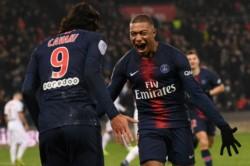 Con hat-trick de Cavani, PSG humilló 9-0 al Guingamp en el Parque de los Príncipes.
