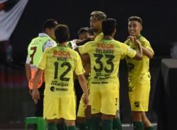 on un golazo de Matías Rojas, el equipo de Beccacece venció 1-0 a River en el Monumental.