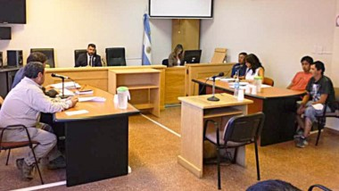 La pena impuesta a Juan Quenqui será en suspenso con reglas.