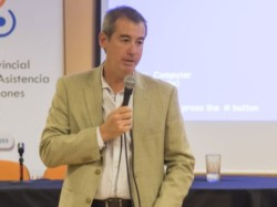 Horacio García, líder de Asuntos Públicos de PAE en Chubut.