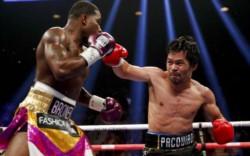 Manny Pacquiao vence por decisión unánime a Brone y suma su victoria 61.