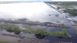 Advierten que las aguas demorarán en bajar en las zonas inundadas.