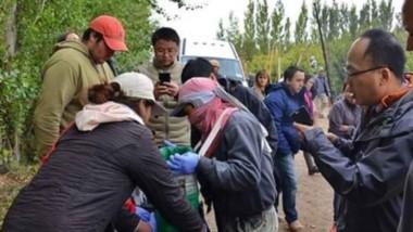 Revisación. Los técnicos chinos observan cómo se manipula la fruta fina antes de aprobar el proceso sanitario para que lleguen a su país.