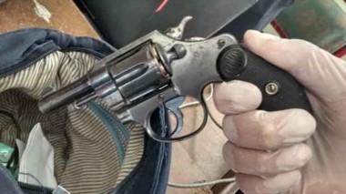 En el marco de la requisa a las ladronas se encontró un revólver 32.
