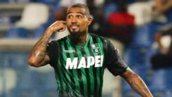 Kevin-Prince Boateng, de 31 años, llega del Sassuolo para ser suplente de Suárez.