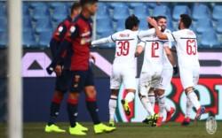 Ya sin el Pipita Higuaín, el Milan venció 2-0 al Genoa y se acomoda en el cuarto puesto de la liga.