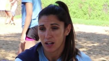 María Florencia Ibarra es la capitana de la selección femenina mayor.
