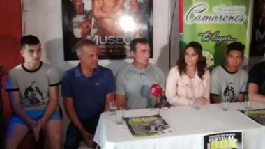 """Ayer se realizó la conferencia de prensa del """"Festival de Box"""" que se llevará adelante el próximo sábado en la localidad de Camarones."""