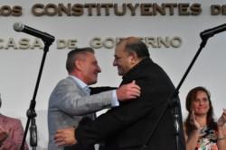 La jura de García. El nuevo funcionario pondrá en funcionamiento la Agencia Provincial de Promoción Turística para reactivar el sector.