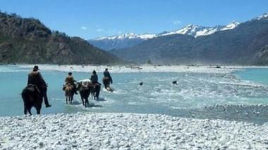 Paraíso. Algo así se encontrarán los aventureros que opten por esta original excursión en una zona bellísima de la provincia.