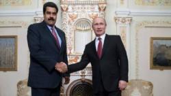 La Guerra Fría por otros medios... Hace unos meses Putin recibió al líder chavista en Moscú, en clara señal de respaldo.