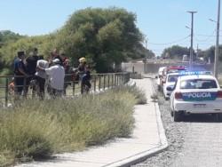 El cuerpo del menor fue hallado este jueves al mediodía (foto FM Tu Lugar)