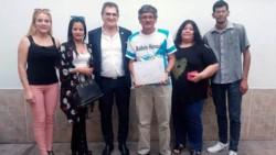 as familias de los héroes fueron notificadas hoy por una comitiva de la Secretaría de Derechos Humanos.