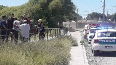 Personal de Bomberos, GEOP, Prefectura y Guardavidas trabajaron en la búsqueda del niño de 11 años. ( FM Tu Lugar)