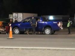 El vehículo fue secuestrado para su posterior inspección (foto Tu Lugar FM)