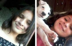 Angelina Cáceres tenia 13 años, desapareció antes de las fiestas de fin de año, más de un mes su familia buscándola, hoy apareció su cuerpo en un descampado.