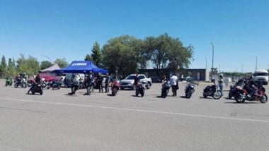 Los motociclistas tuvieron la oportunidad de manejar sus motos por el circuito del autódromo Mar y Valle.