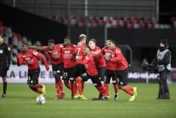 Guingamp eliminó al AS Monaco de la Copa de la Liga en la tanda de penales tras haber empatado en el tiempo regular 2-2.