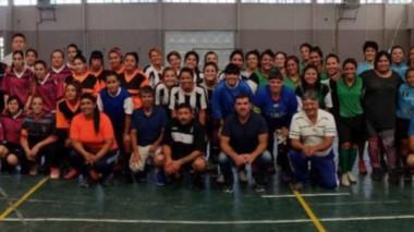 Más de ochenta jugadoras participaron del Torneo Relámpago de Futsal Femenino que se llevó adelante el pasado fin de semana en Rawson.