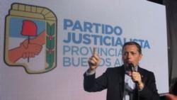 El intendente de Esteban Echeverría Fernando Gray, flamante titular del peronismo bonaerense.