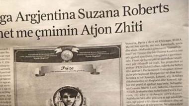 La publicación MAP anunció la premiación de la escritora argentina.