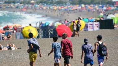 La temperatura ayer superó los 30º entre las 15 y  16 horas. Para el día de hoy se espera que el registro  alcance los 27º para las 15 horas.